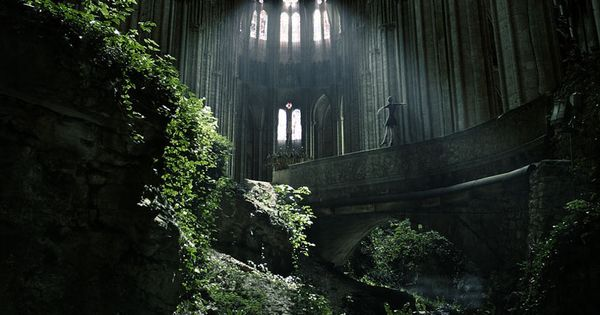 Church of St. Etienne, France. The 40 Most Breathtaking Abandoned Places In