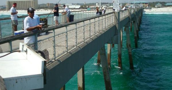 Okaloosa island fishing pier fort walton beach and for Fort walton beach fishing