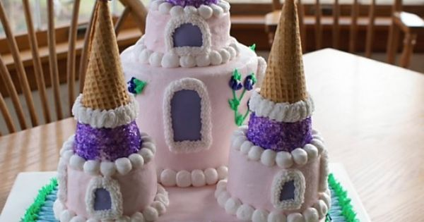 Cake castle