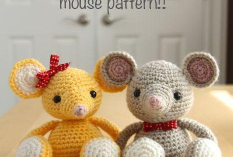 free mouse amigurumi crochet pattern! - Amigurumi ...
