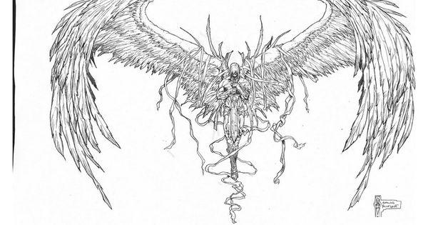 angel knight tattoos 850 640 tattoo pinterest knight tattoo knight and angels. Black Bedroom Furniture Sets. Home Design Ideas
