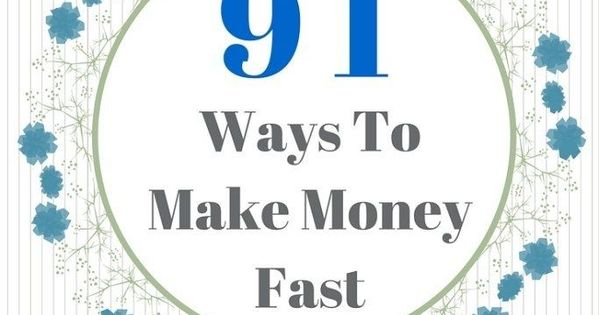 How To Make A Book Quickly : I need money now easy ways to make fast earn