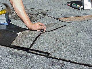 Applying Cap Shingles Over Ridge Vent Roof Shingles Ridge Vent Roofing