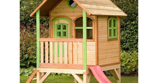 Casita de madera momo casas de madera para ni os for Carrefour casa jardin ninos
