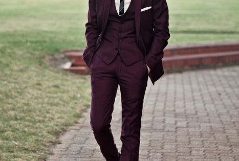 Wedding Trends: A Colored Suit - For grooms looking to step outside