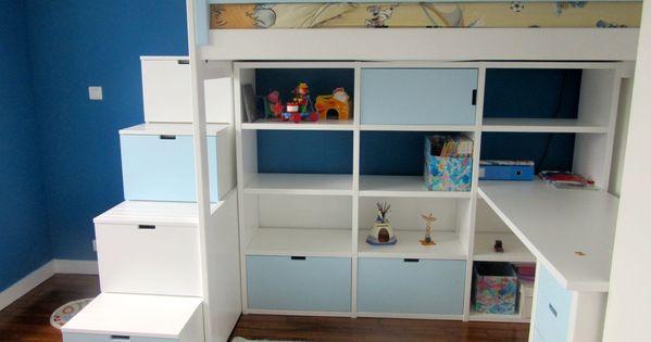 Miniature Dollhouse Kit en Bois Modèle de Chambre à Coucher Lit Superposé