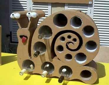 Comment Fabriquer Un Range Bouteille En Carton Range Bouteille Maison Range Bouteille Bouteille Rangement