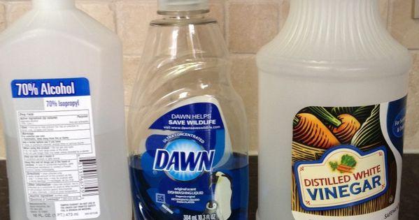 Non Ammonia Window Cleaner 1 4 Cup Vinegar 1 2 Cups