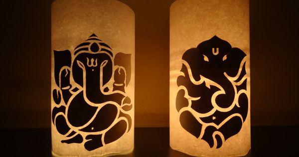 Paper Crafts (Diwali Decoration Ideas) : Candle ...