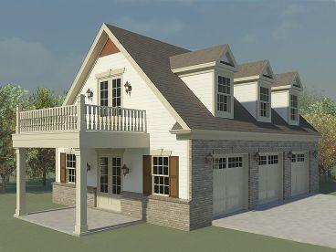 Garage Loft Plan 006g 0124 Garage Plans With Loft Carriage House Plans Garage Loft