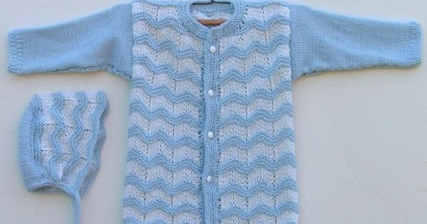 ABC Knitting Patterns - Baby Ripple Cardigan knitting Pinterest Free pa...
