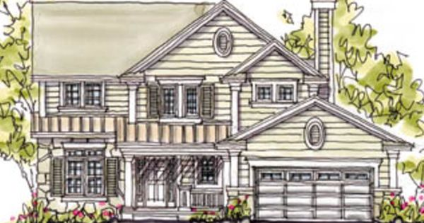 House Plan 20 240 Has It All In A Moderate Size Home