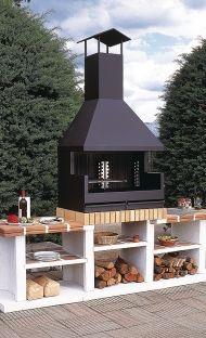 Bases Para Barbacoa Hierro Buscar Con Google Design Für Aussenküche Hinterhof Küche Grill Bauen