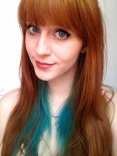 A88d7f4fad4a55d6b797a6a542dc87fc Jpg 236 314 Pixels Underlights Hair Teal Hair Teal Hair Color