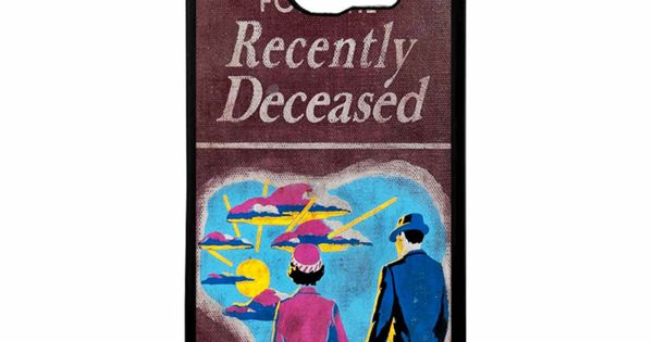 Beetlejuice Handbook Recently Deceased Samsung Galaxy S6 Case ...