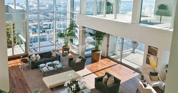 Sumptuous st regis penthouse in san francisco penthouse for San francisco architecture firms