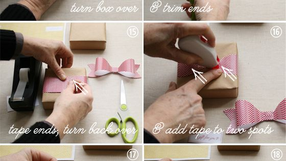 diy paper ribbon tutorial