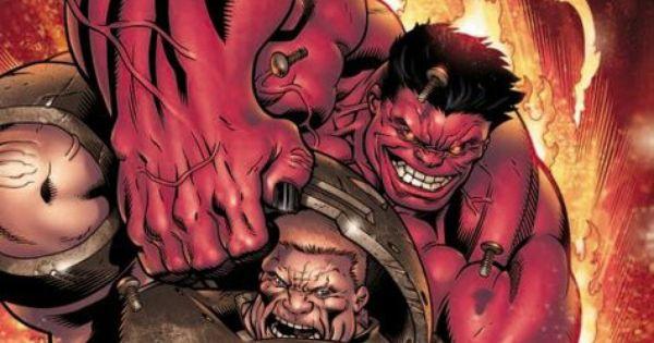 Red Hulk Vs Trion Juggernaut: Red Hulk Vs Juggernaut