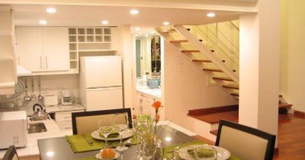 Monoambiente moderno luminoso decoraci n pinterest - Decoracion loft pequeno ...