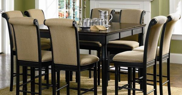 Cabrillo Counter Height Dining Table W Leaf Coaster