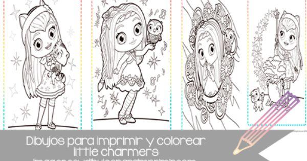 Mas Dibujos Para Imprimir De Little Charmers Coleccionalos Art Humanoid Sketch