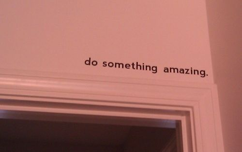 above the front door. I love the idea of small hidden quotes