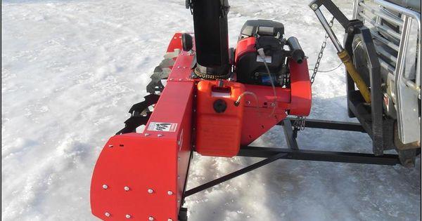 Pickup Truck Mounted Snow Blowers Trucks Pinterest Trucks Lawn
