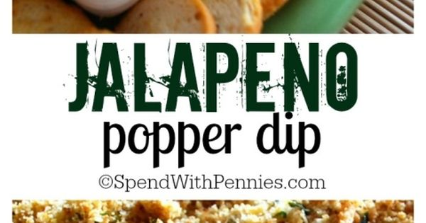 This delicious dip is my go to appetizer! Creamy, cheesy and just