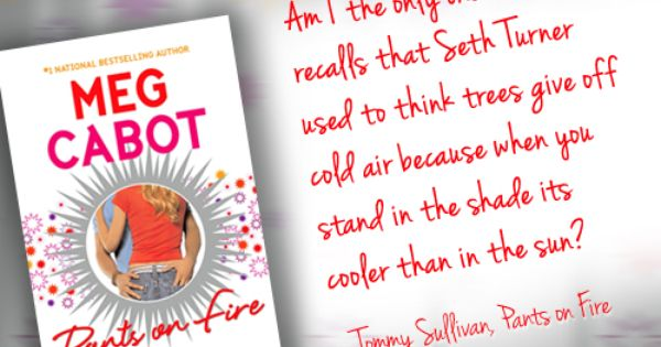 book Tommy Sullivan Is A Freak by Meg Cabot.