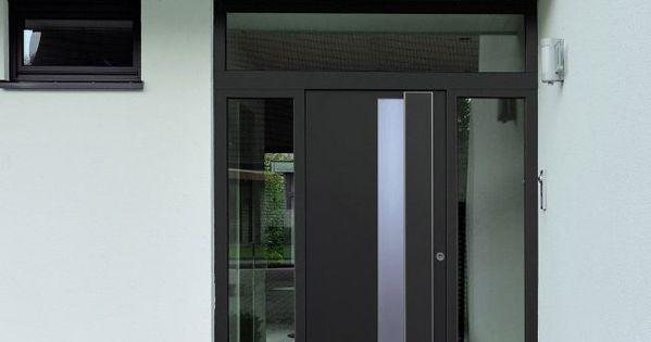 Puertas de entrada de aluminio con dise os a la carta - Puertas de aluminio para entrada principal ...