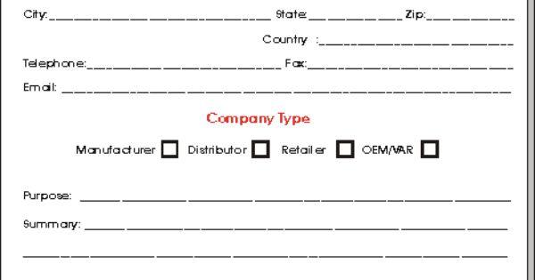 Sales Call Sheet Sales Representative Agreements – Sales Contact Sheet Template