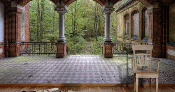 0281 Fototapete Vintage Villa 2 Bildtapete Fototapete Tapeten Wandgemalde Ideen