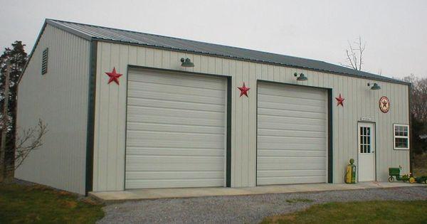 30x50x10 Post Frame Building : Post frame garage nationalbarn barns