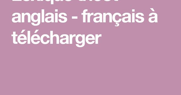 Lexique tricot anglais fran ais t l charger trucs de - Telecharger open office 3 3 gratuit francais ...