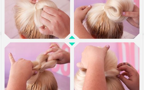 easy hair bow tutorial.