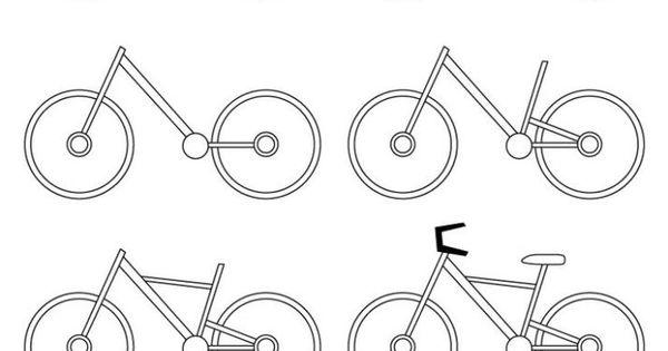 Aprendemos A Dibujar Una Bicicleta Como Dibujar Una Bicicleta Aprender A Dibujar Lecciones De Arte