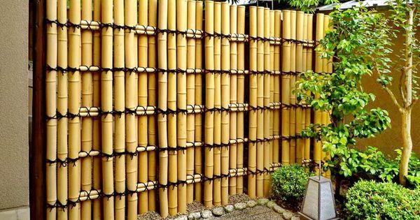 Pin de armin torres en fachadas exteriores pinterest - Canas de bambu decoracion exterior ...