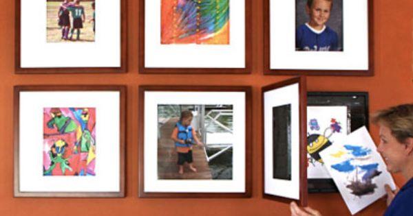 Savvy Housekeeping Cleaning Decorating Art Display Kids Kids Artwork Childrens Artwork