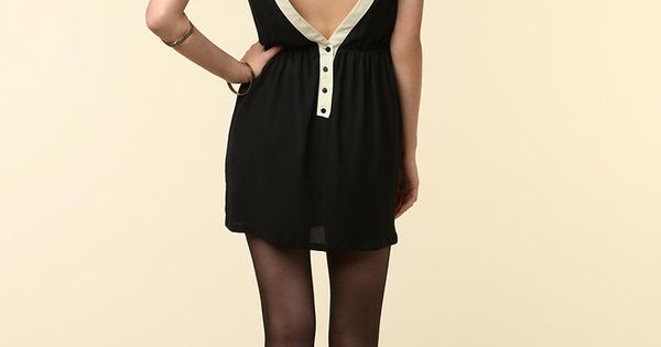 A gorgeous take on the classic little black dress