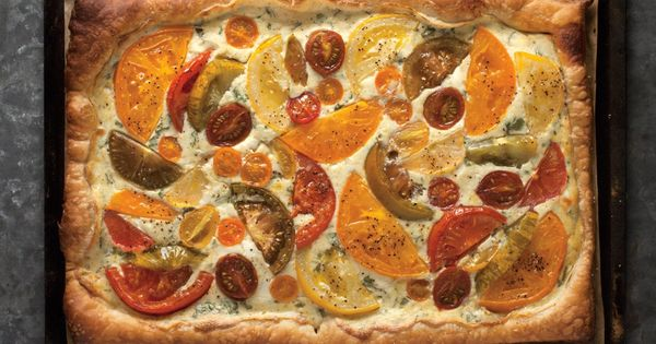 ... | Pinterest | Heirloom Tomato Tart, Heirloom Tomatoes and Tarts