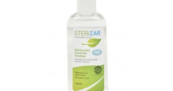 Sterizar Gel Hand Sanitiser 100ml