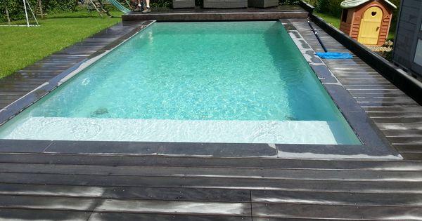 Zwembad met liner alkorplan 2000 grijs zwembaden jr pools pinterest grijs en met - Zwembad interieur design ...