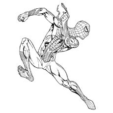 50 Wonderful Spiderman Coloring Pages Your Toddler Will Love Spiderman Coloring Coloring Pages Spiderman Craft