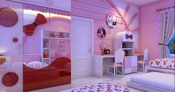 Hello Kitty Decoratie Slaapkamer : Hello kitty kamers, Hello kitty and ...