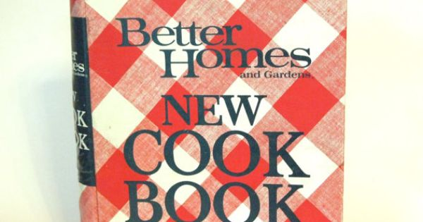 Better Homes And Gardens 1968 Vintage Cookbook 5 Ring Binder Style