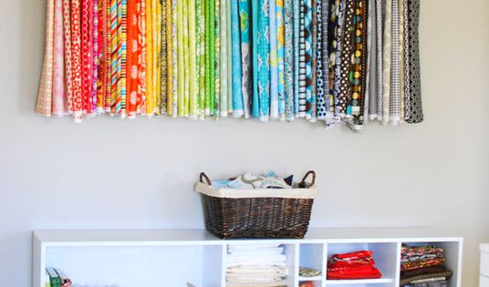 Craft Room organization idea - WONDERFUL!
