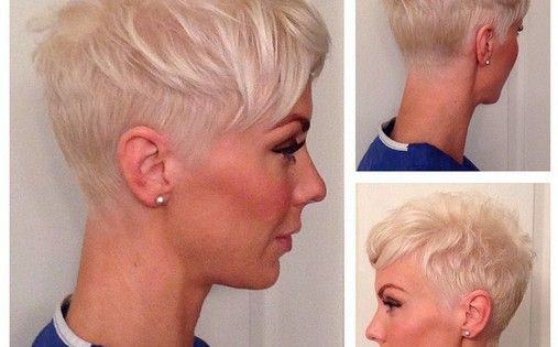 Pixie Hairstyle for Fine Hair - Women Short Haircuts for 2015