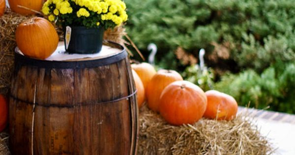 Wine barrel and Autumn