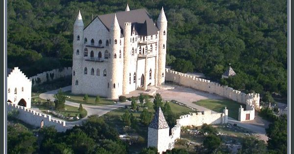 Falkenstein Castle in Burnet, Texas, built using plans for a Bavarian castle.