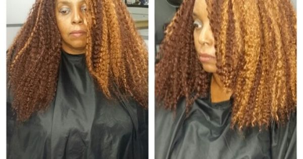 Crochet Braids For Work : My Work* Crochet Braids (before/after cut) What The Future Holds ...
